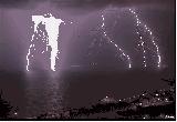 סופת ברקים בחיפה