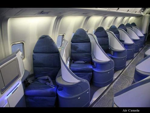 המטוס החדש של air canada הדור הבא של המטוסים מבפנים