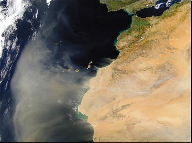 תמונות לווין של כדור הארץ