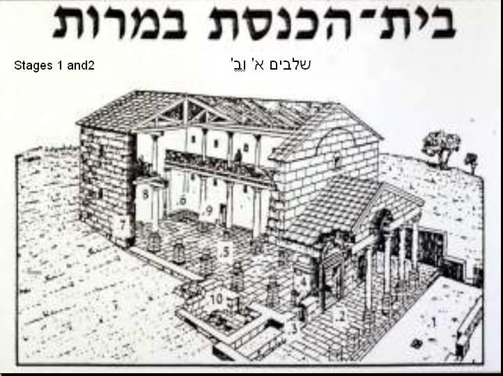 גילוי בית-כנסת ובית-מדרש קדומים בגליל העליון