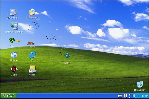 מה קורה במחשב כשאתה לא נמצא