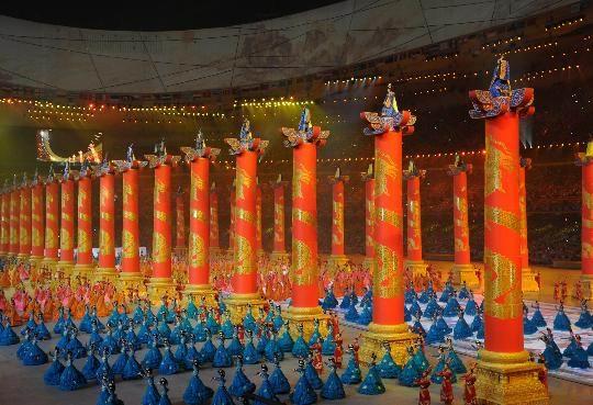 טכס פתיחת אולימפיאדת בייג ינג 2008