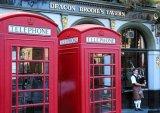 תאי הטלפון האדומים של בריטניה...