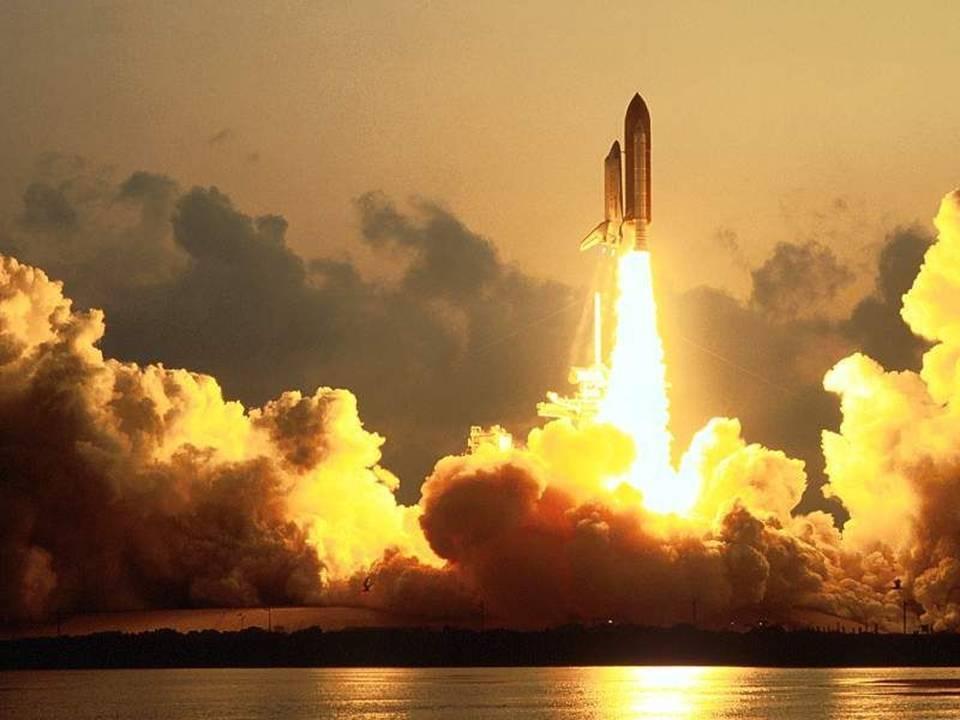 מעבורת החלל - צילומים עוצרי נשימה