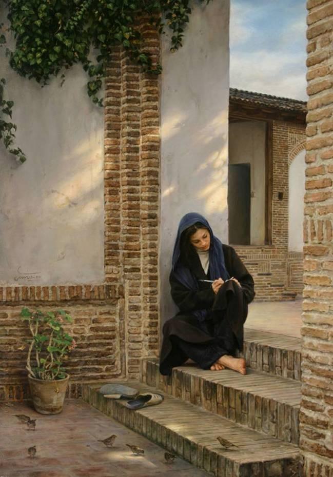 Iman_Malichi_pintor_Irani