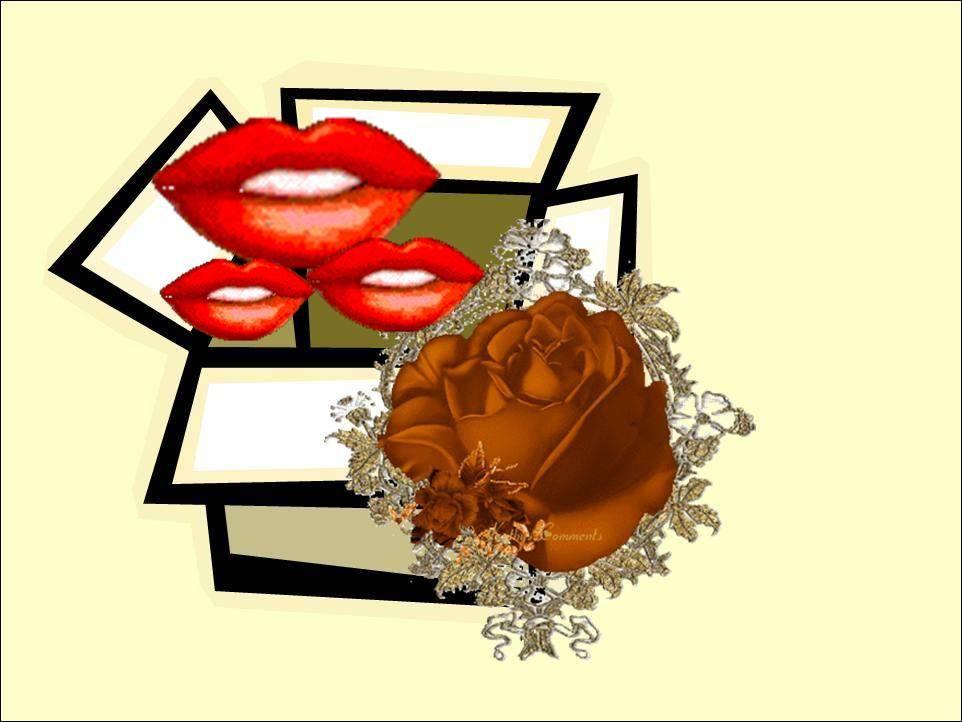 קופסת הנשיקות של אמא...