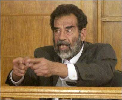 המשפט של סדאם - משחק אבן נייר ומספריים