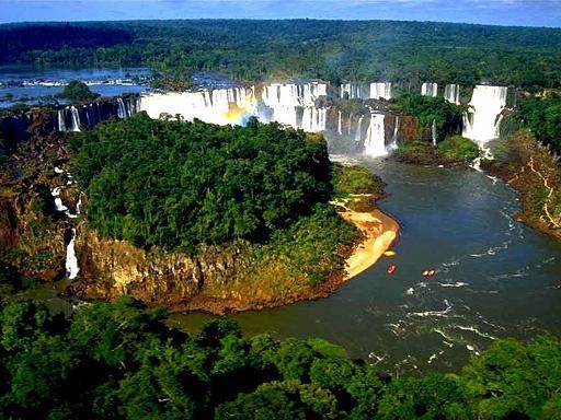 מפלי האיגוסו - המפלים הגדולים בעולם
