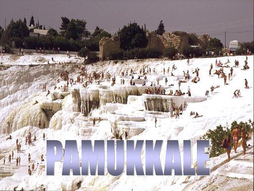 PAMUKKALE - בריכות מים חמים יחודיות בתורכיה