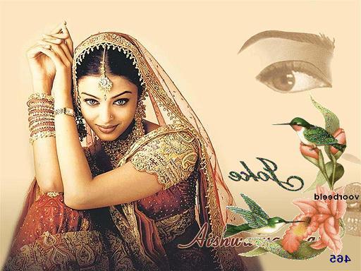 כוכבת הסרטים ההודים Aishwarya Rai