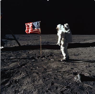 תאורית הקונספירציה של הנחיתה על הירח