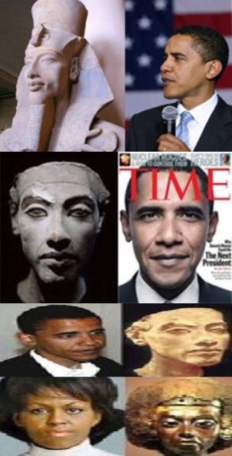 האם אובמה פרעה ?    ? Is Obama Pharaoh