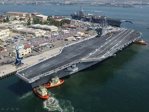 הכוח של הצי האמריקני
