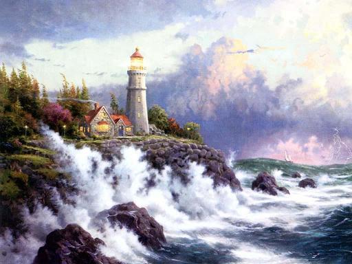 ציורים של תומס קינקד