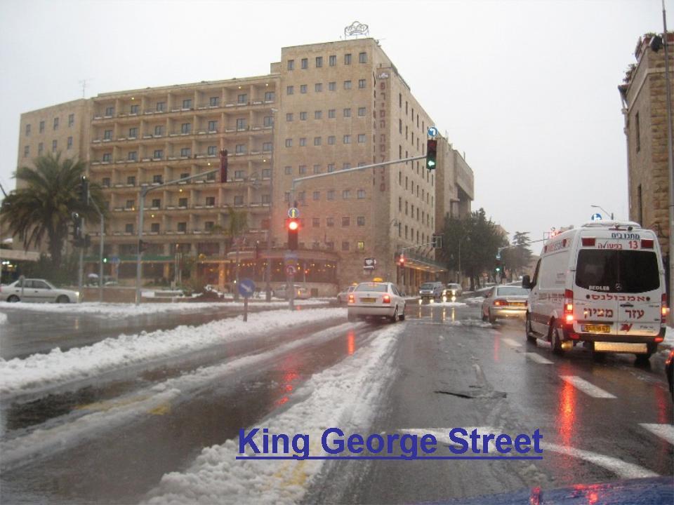 שלג בירושלים חורף 2008