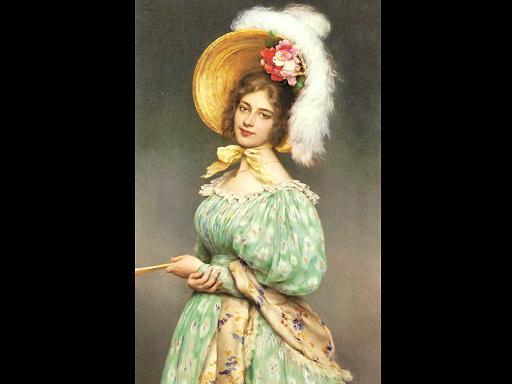 ציורי שמן של האמן האוסטרי Eugenio de Blaas
