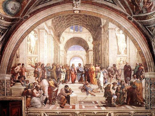 רפאלו סאנציו 1483-1520 אסכולת אתונה