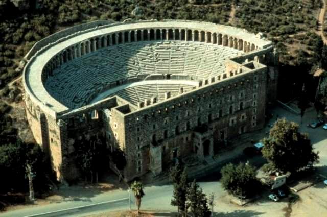 אספנדוס העיר היוונית