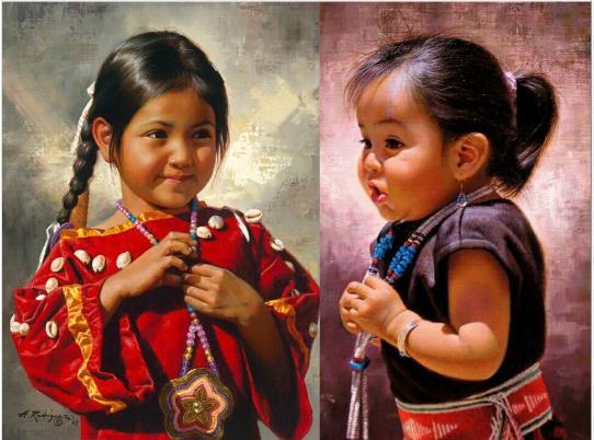 ציורים של צעיר אלפרדו רודריגוז