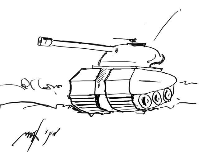 מיועד לילדים בגילאי 5-8... איך מציירים טנק
