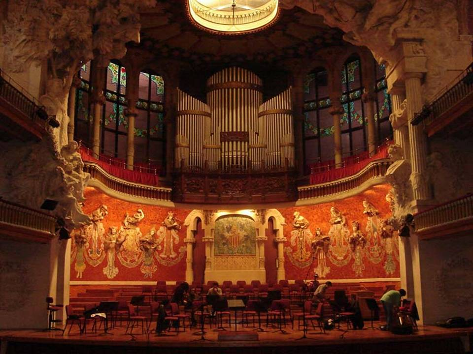 CATALAN PALACE OF MUSIC BARCELONA