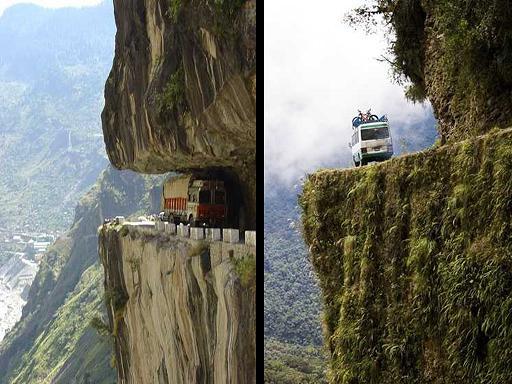 דרך המוות  בבוליביה