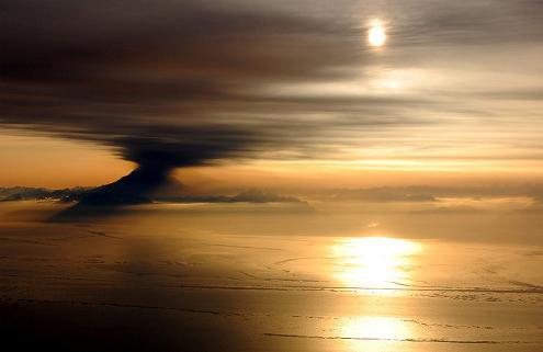 התפרצות געשית באלסקה