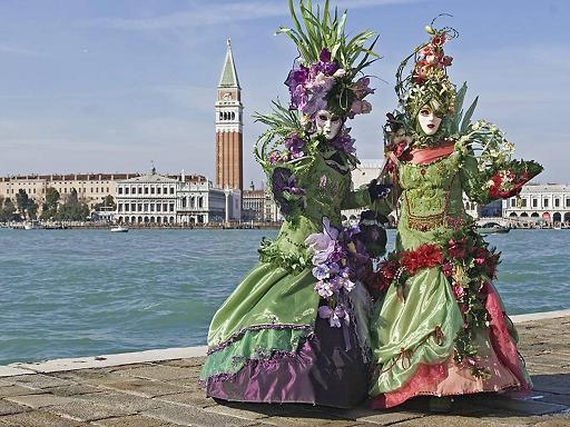 קרנבל התחפושות בוונציה 2010