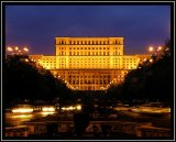 בניין הפרלמנט בבוקרשט