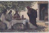 אברהם ושלשת המלאכים באמנות- חלק ב