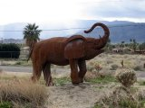 Borrego Springs-Metal Art-California