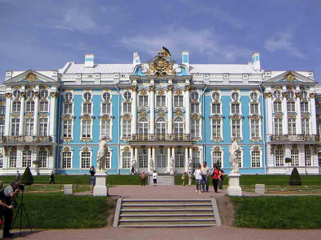 The Catherine Palace, Pushkin near St.Petersburg