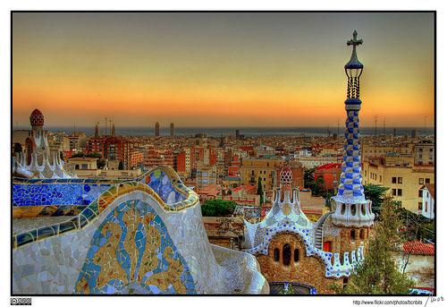 Barcelona, Gaudi, Park Guell