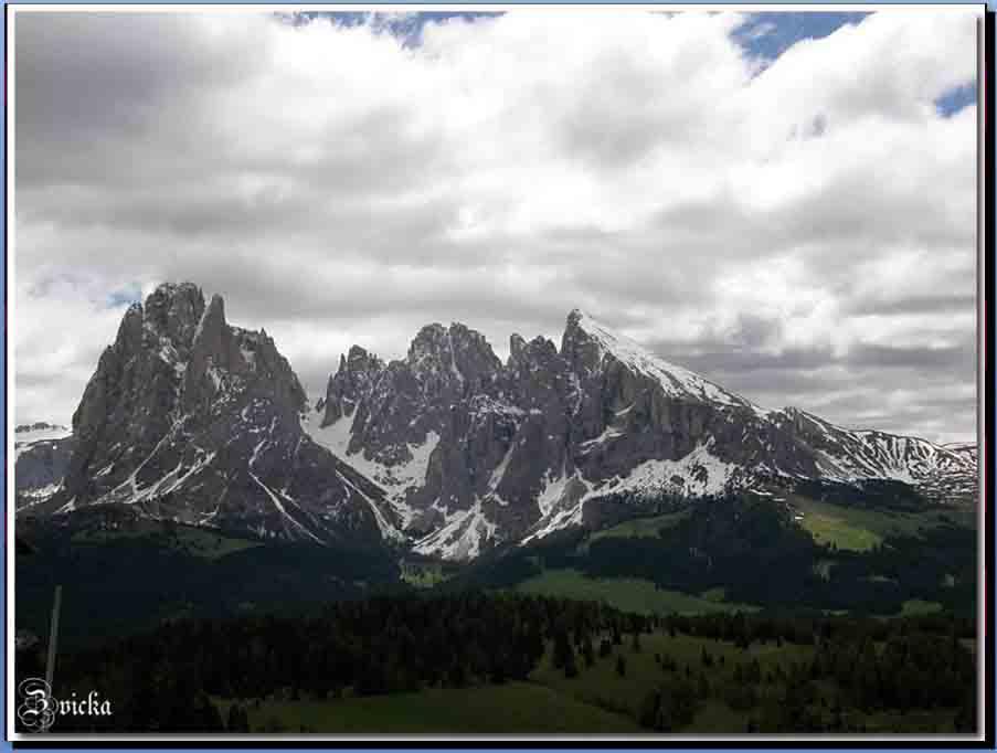 צפון איטליה - הדולומיטים 2010