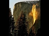Where a Waterfall Catches Fire