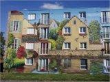 4 בתים מצויירים