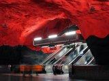 תחנות רכבת תחתית בשבדיה, קוריאה ומוסקבה