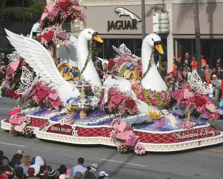 Pasadena, The Rose Parade
