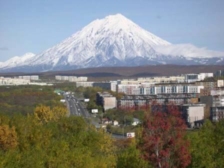 הרי הגעש של חצי האי קמצ`טקה