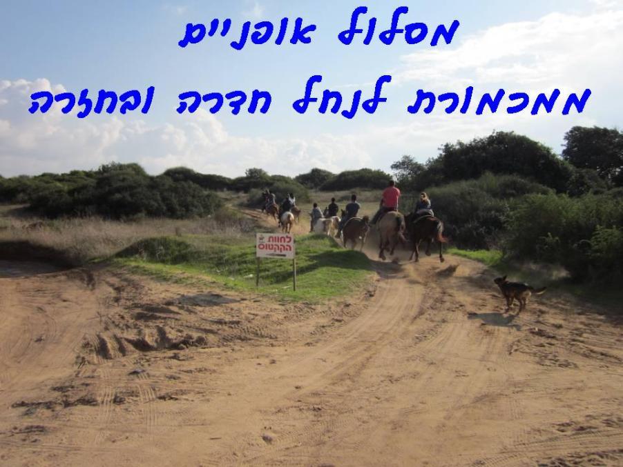 מסלול אופניים - מכמורת -נחל חדרה