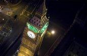 לונדון הלילית מלמעלה