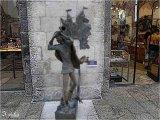 פסלים ברחוב ממילא בירושלים   Statues in Mamila street Jerusalem
