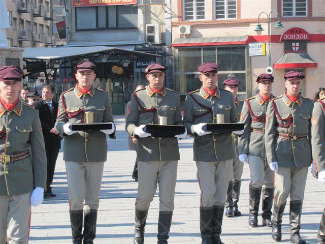 טקס פתיחת מוזיאון השואה בסקופיה בירת מקדוניה