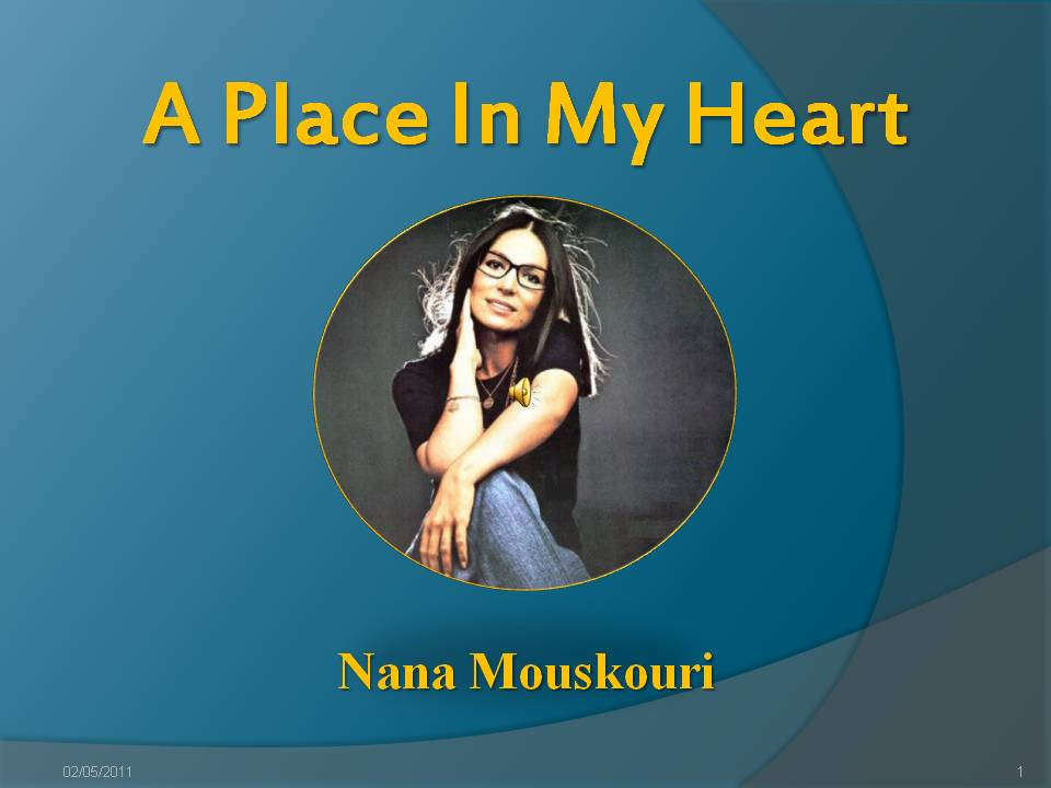 A Place in My Heart