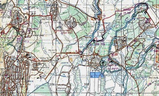 שביל ישראל מס 1 – מדן עד כפר גלעדי