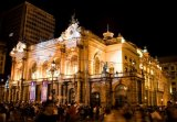 Brazil-100 years old Municipal Theatre of Saint Paul