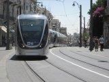 נסיעה ראשונה לרכבת הקלה בירושלים