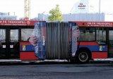 פרסום על אוטובוסים