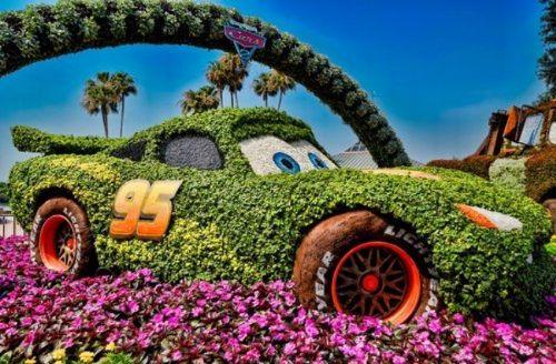 Flower Festival in Disneyland