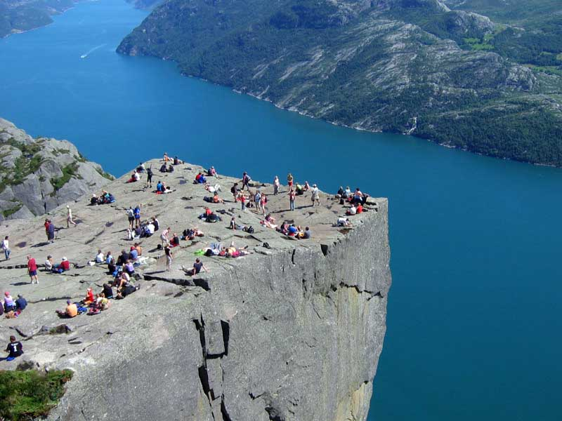 The Pulpit Rock-Norway